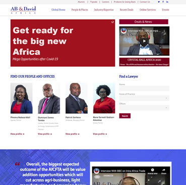 Website Design Services for Law Firms in Ghana