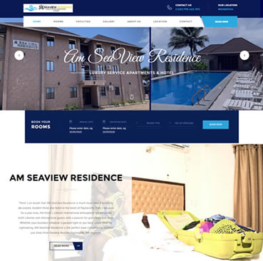 Website Development Services for Hotels in Ghana