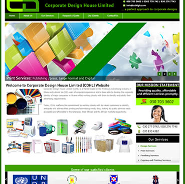 Website Development for branding Companies in Ghana