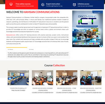 Website Development for Schools in Ghana