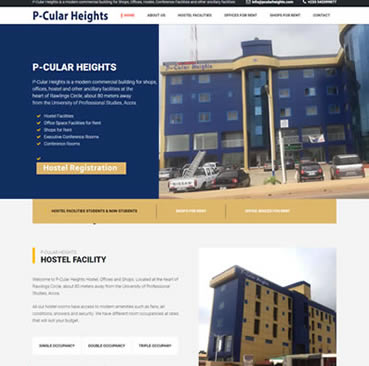 Website Design Services for shopping  malls in Ghana