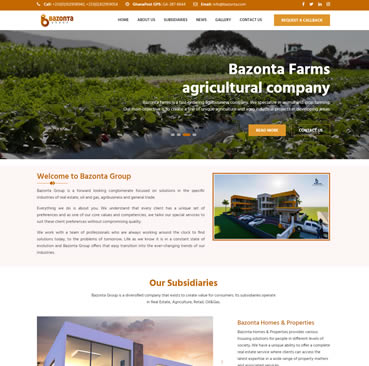 Website Development for Property Development Companies in Ghana