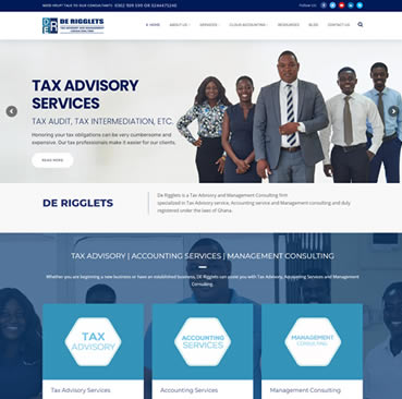 Website Development Services for Accountants in Ghana